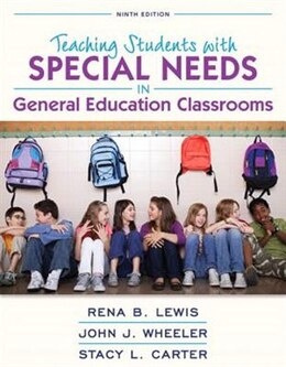 Book Revel For Teaching Students With Special Needs In General Education Classrooms, Loose-leaf Version… by Rena B. Lewis