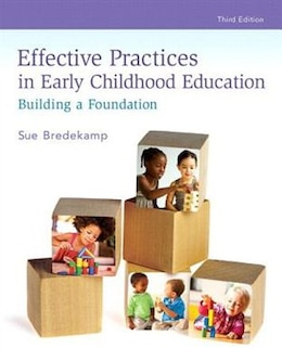 Book Revel For Effective Practices In Early Childhood Education: Building A Foundation With Video… by Sue Bredekamp