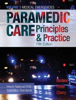 Book Paramedic Care: Principles & Practice, Volume 3 by Bryan E. Bledsoe