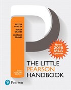 The Little Pearson Handbook, Third Canadian Edition (mla Update)