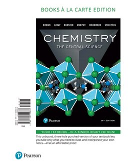 Book Chemistry: The Central Science, Books A La Carte Edition by Theodore E. Brown
