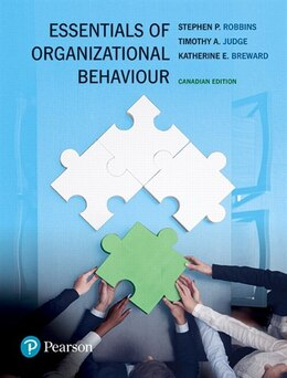 Book Essentials Of Organizational Behaviour, First Canadian Edition, Loose Leaf Version by Stephen P. Robbins