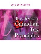 Byrd & Chen's Canadian Tax Principles, 2016 - 2017 Edition Plus Companion Website With Pearson…