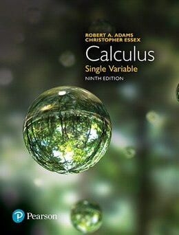 Book Calculus: Single Variable by Robert A. Adams