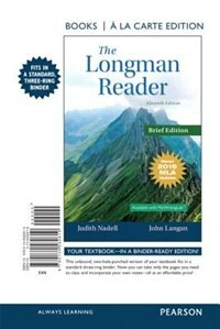 Book The Longman Reader, Brief Edition, Books A La Carte Edition, Mla Update Edition by Judith Nadell