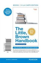 The Little, Brown Handbook, Books A La Carte Edition, Mla Update Edition