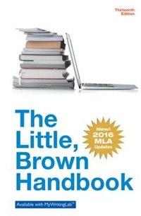 Little Brown Handbook, The, Mla Update Edition
