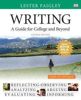 Book Writing: A Guide For College And Beyond, Mla Update Edition by Lester Faigley