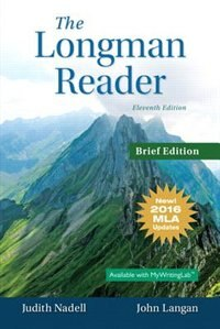 Book The Longman Reader, Brief Edition, Mla Update Edition by Judith Nadell