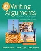 Writing Arguments: A Rhetoric With Readings, Concise Edition, Mla Update Edition