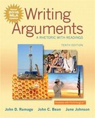 Writing Arguments: A Rhetoric With Readings, Mla Update Edition