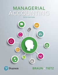 Managerial Accounting, Student Value Edition Plus Myaccountinglab With Pearson Etext -- Access Card…
