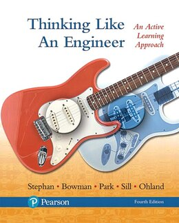 Book Thinking Like An Engineer: An Active Learning Approach Plus Myengineeringlab -- Access Card Package by Elizabeth A. Stephan
