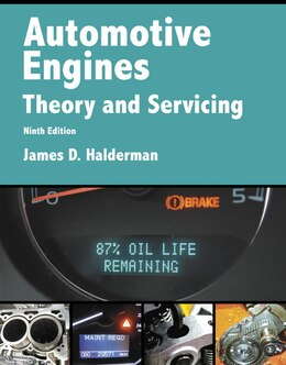 Book Automotive Engines: Theory And Servicing by James D. Halderman
