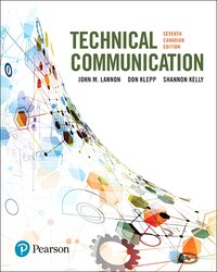 Technical Communications, Seventh Canadian Edition Plus Mywritinglab With Pearson Etext -- Access…