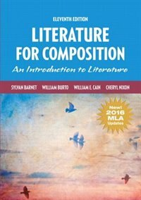Book Literature For Composition, Mla Update by Sylvan Barnet