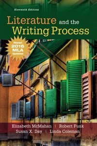 Book Literature And The Writing Process, Mla Update by Elizabeth Mcmahan