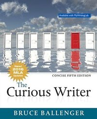 The Curious Writer, Concise Edition, Mla Update
