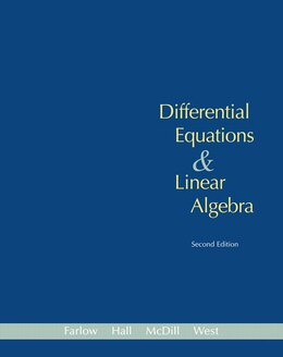 Book Differential Equations And Linear Algebra (classic Version) by Jerry Farlow