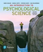 An Introduction To Psychological Science, Second Canadian Edition Plus Mypsychlab With Pearson…