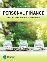 Personal Finance, Fourth Canadian Edition