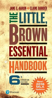 The Little, Brown Essential Handbook, Sixth Canadian Edition (mla Update) Plus Mywritinglab With…