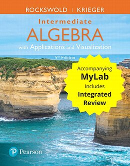 Book Intermediate Algebra With Applications & Visualization With Integrated Review Plus Mymathlab… by Gary K. Rockswold