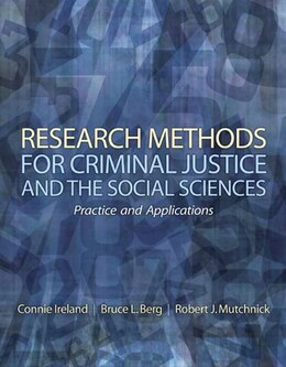 Book Research Methods for Criminal Justice and the Social Sciences by Robert J. Mutchnick