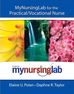 Book MyNursingLab for the Practical/Vocational Nurse (text + access code) by Elaine Polan