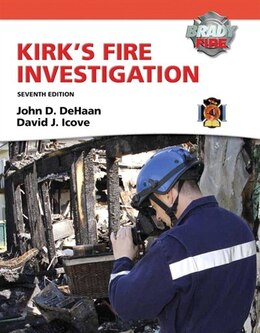 Book Kirk's Fire Investigation by John D. De Haan