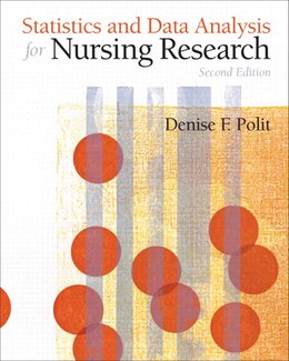 Book Statistics and Data Analysis for Nursing Research by Denise F. Polit