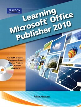 Book Learning Microsoft Office Publisher 2010, Student Edition by Catherine Skintik