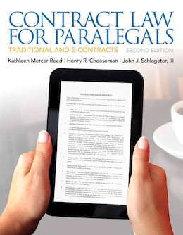 Book Contract Law for Paralegals by Kathleen Reed