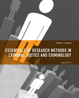 Book Essentials of Research Methods for Criminal Justice by Frank E. Hagan