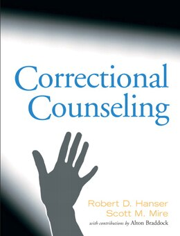 Book Correctional Counseling by Robert D. Hanser