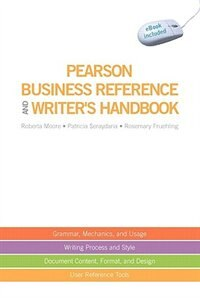 Book Pearson Business Reference and Writer's Handbook (with downloadable ebook access code) by Roberta Moore