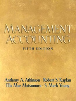 Book Management Accounting by Anthony A. Atkinson