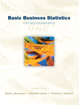 Book Basic Business Statistics by Mark L. Berenson