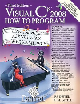 Book Visual C# 2008 How to Program by Paul Deitel