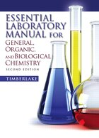 Essential Laboratory Manual for General,  Organic and Biological Chemistry
