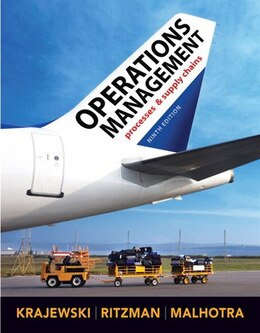 Book Operations Management by Lee J. Krajewski
