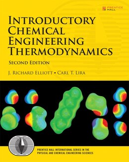 Book Introductory Chemical Engineering Thermodynamics by J. Richard Elliott