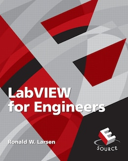 Book LabVIEW for Engineers by Ronald W. Larsen