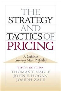Book The Strategy and Tactics of Pricing: New International Edition by Thomas Nagle
