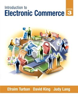 Book Introduction to Electronic Commerce by Efraim Turban