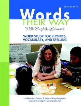 Book Words Their Way with English Learners: Word Study for Phonics, Vocabulary, and Spelling by Lori Helman