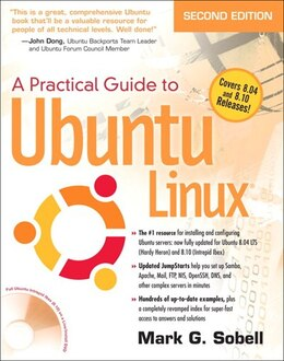 Book A Practical Guide to Ubuntu Linux (Versions 8.10 and 8.04) by Mark G. Sobell
