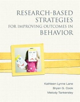 Book Research-based Strategies For Improving Outcomes In Behavior by Kathleen L. Lane