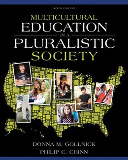Book Multicultural Education In A Pluralistic Society by Donna M. Gollnick