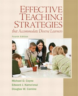 Book Effective Teaching Strategies that Accommodate Diverse Learners by Michael D. Coyne